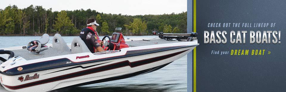 Bass Cat Boats: Click here to find your dream boat.