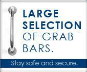 Large selection of grab bars!