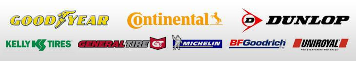 We proudly offer products from Michelin®, BFGoodrich®, Uniroyal®, Goodyear, Kelly, Continental, Toyo, ACDelco, and Kumho. We are ASE certified.