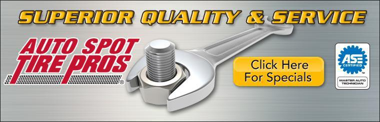 Superior Quality and Service. Click here for specials.