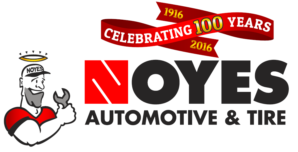 Noyes Celebrating 100 years logo