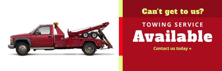 Noyes Automotive & Tire Service offers Towing Service to the Burlington, VT area: Contact Noyes Auto today!