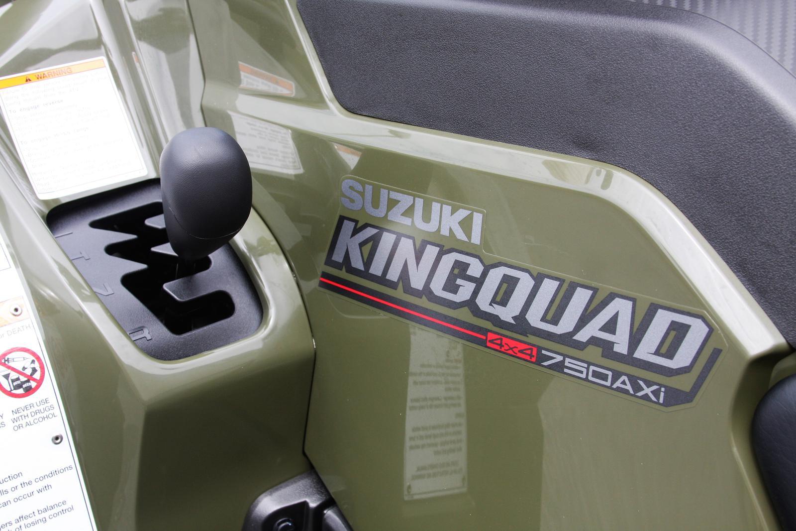 2019 Suzuki KING QUAD 750AXi