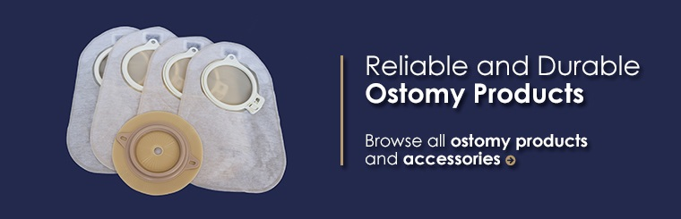 Browse all ostomy products and accessories!