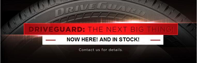 DriveGuard Run Flat.  Now here and in stock. Click here for details.