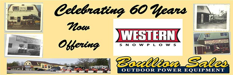 Celebrating 60 Years. Now offering Western Snowplows.