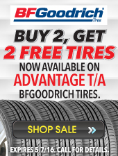 Buy 2 Get 2 Tire Sale