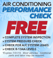free air conditioning performance check