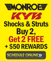 buy 2 get 2 free monroe shocks and struts