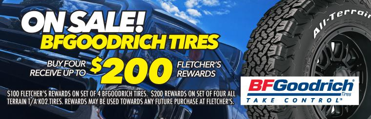 All BFGoodrich Tires On Sale at Cost