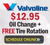 oil change and brakes coupon