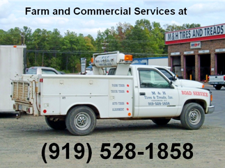 Call 919-528-1858 for farm and commercial services!