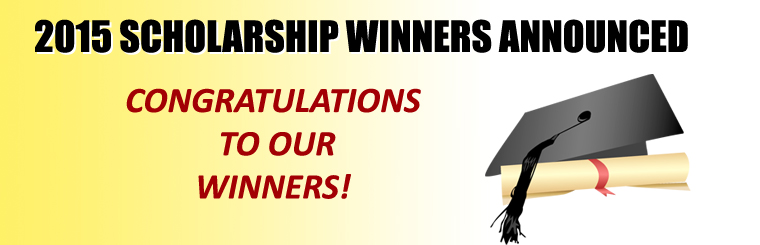 2015 Scholarship Winners Announced