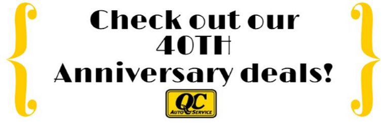 40th Anniversary Sale
