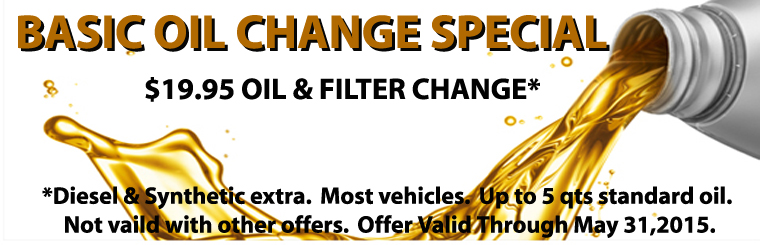 Basic Oil Change Special