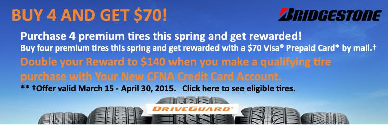 BRIDGESTONE 2015 SPRING NATIONAL PROMOTION