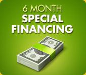6 Month Special Financing