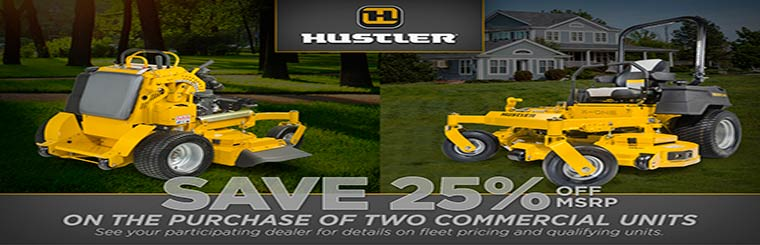 Hustler Save 25% Off MSRP