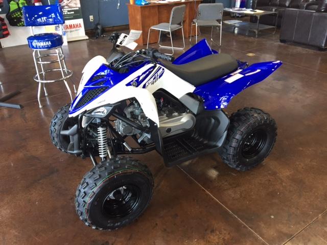 2018 Yamaha Raptor 90 1