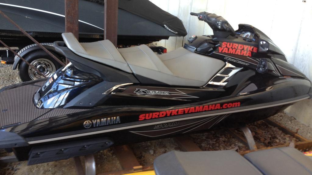 2014 Yamaha FX Cruiser SVHO 1