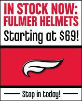 In Stock Now: Fulmer Helmets! Starting at $69! Stop in today!