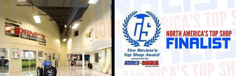 Hornsby Tire & Service Center is North America's Top Shop Finalist!