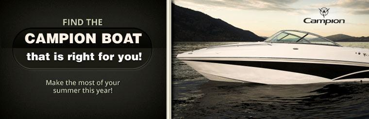 Make the most of your summer this year with a Campion Boat, click here to browse.