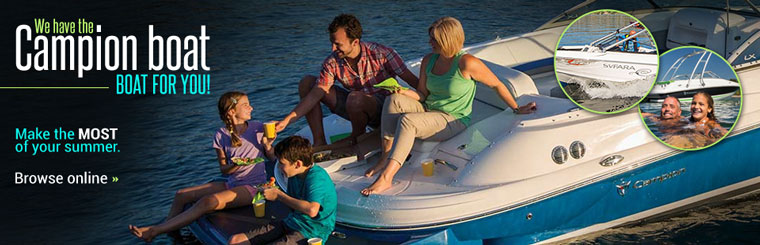 We have the Campion boat for you! Click here to view the models.