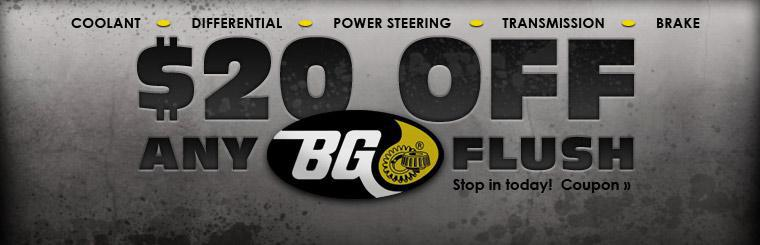 Click here to get $20 off any BG flush with this coupon.