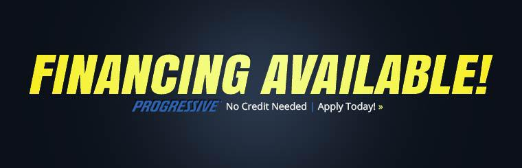 Financing Available! Click here to apply today.