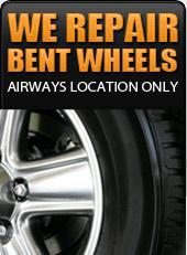 We repair bent wheels