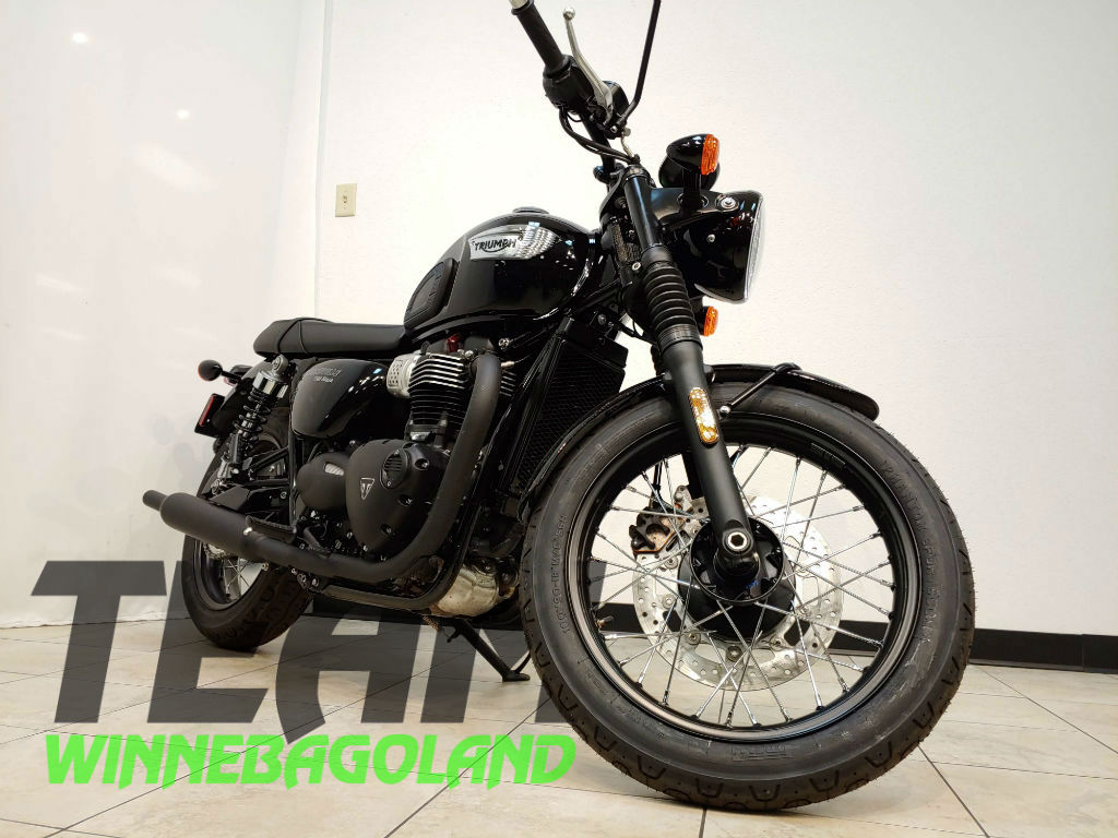 2019 Triumph Bonneville T100 Black For Sale In Oshkosh Wi Team