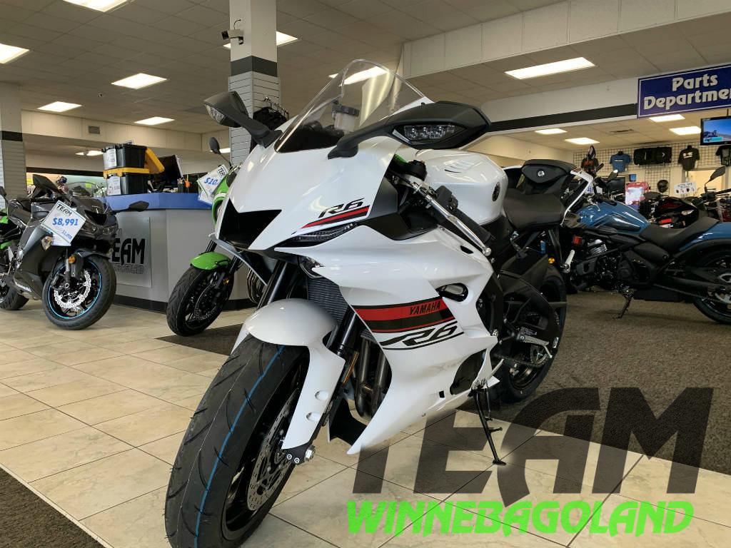 2019 Yamaha Yzf R6 For Sale In Oshkosh Wi Team Winnebagoland
