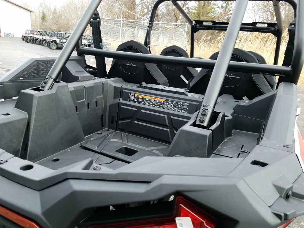 2019 Polaris Industries RZR XP 4 Turbo- Matte White Pearl