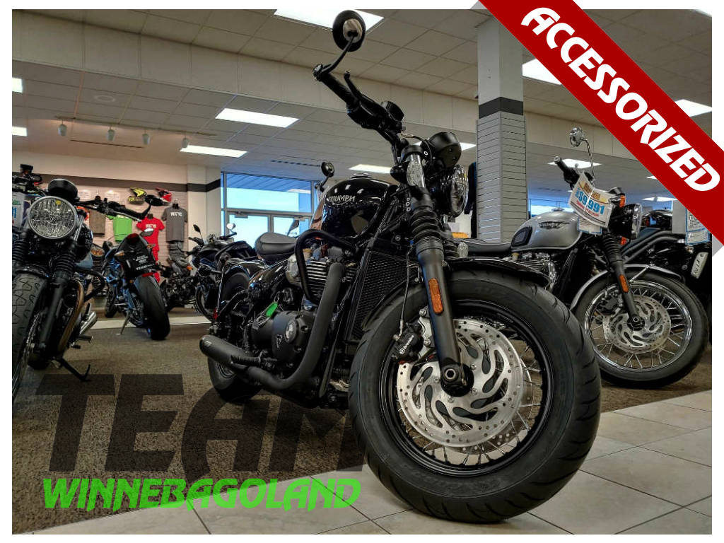 2018 Triumph Bonneville Bobber Black For Sale In Oshkosh Wi Team