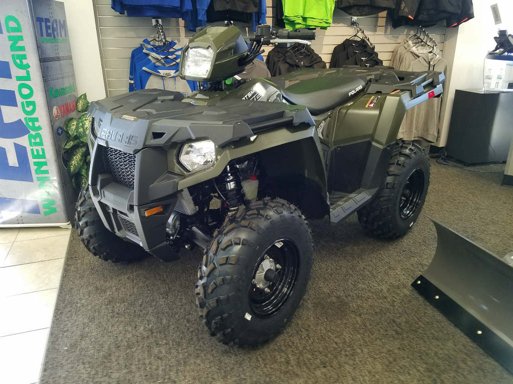 2018 Polaris Industries Sportsman 570 - Sage Green for sale in ...