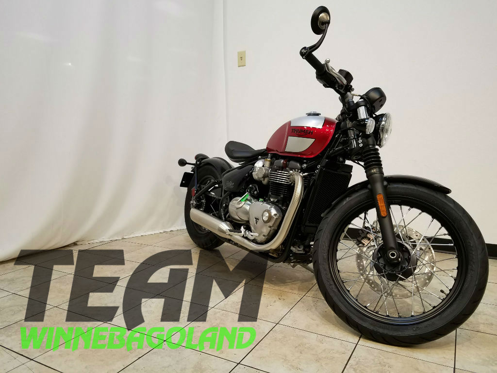 2018 Triumph Bonneville Bobber 2 Tone For Sale In Oshkosh Wi