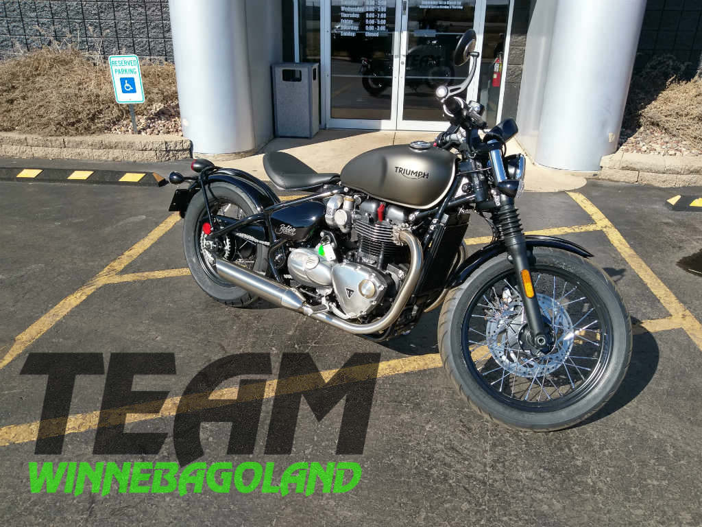 2018 Triumph Bonneville Bobber Color For Sale In Oshkosh Wi Team