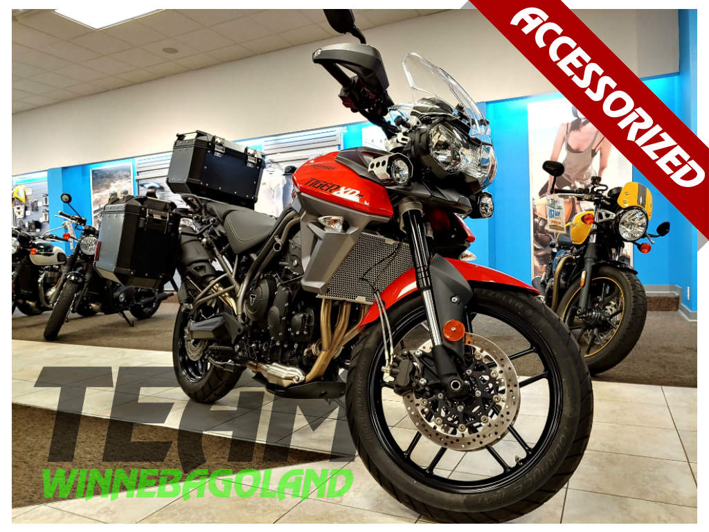 2016 Triumph Tiger 800 Xrt Orange For Sale In Oshkosh Wi Team