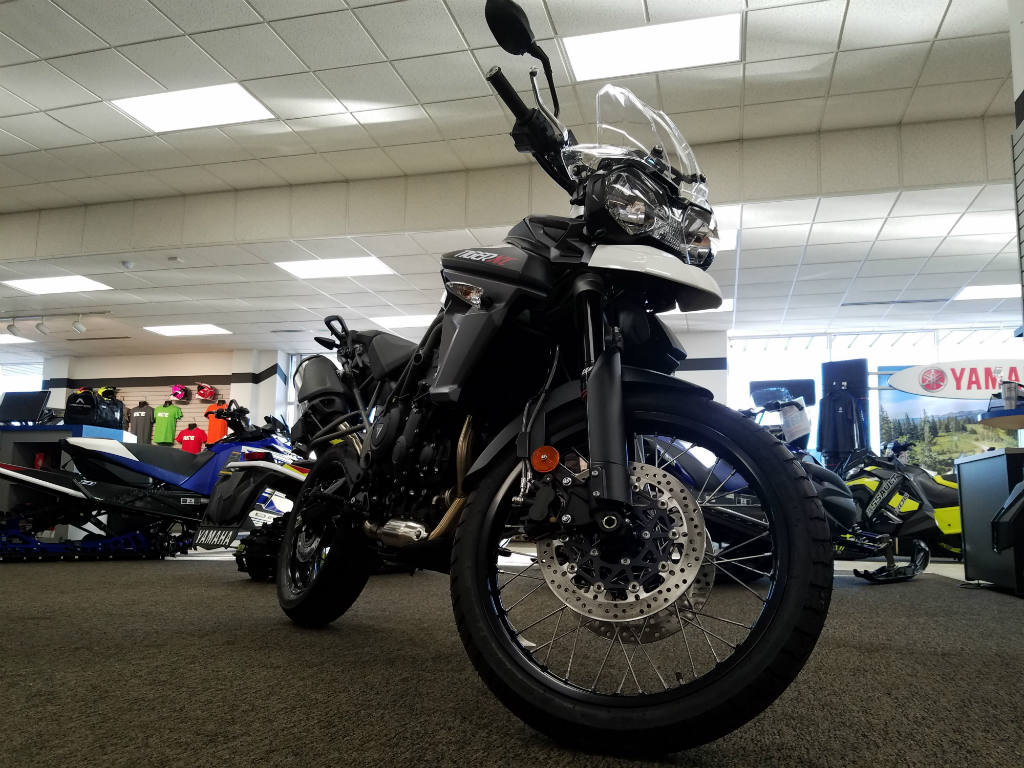 2016 Triumph Tiger 800 Xc White For Sale In Oshkosh Wi Team