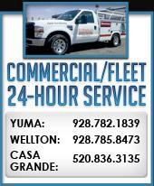 Commercial/Fleet 24-Hour Service