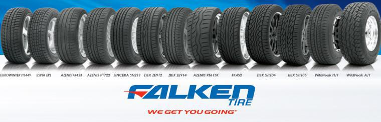 We carry Falken Tires