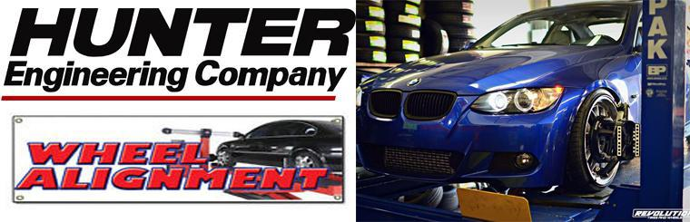 Hunter Hawk Eye Elite Wheel Alignment