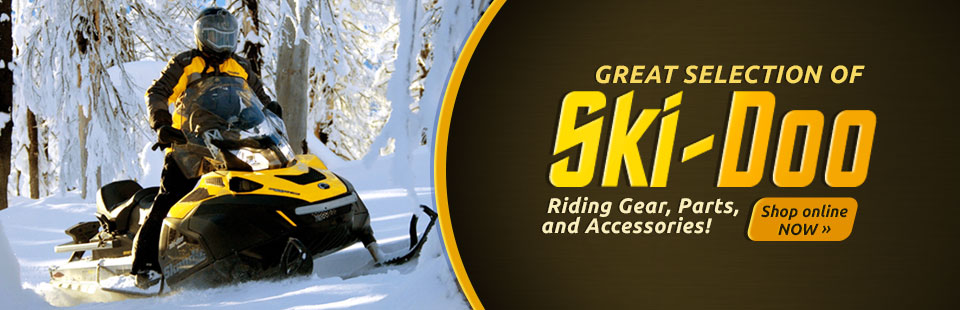 Ski-Doo Riding Gear, Parts, and Accessories