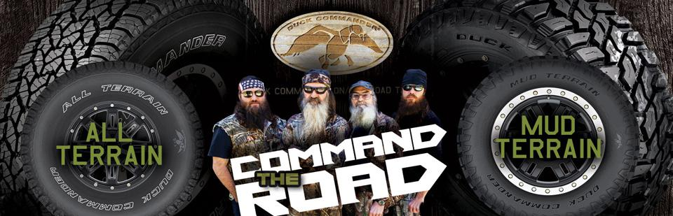 All Terrain and Mud Terrain Tires from Duck Commander