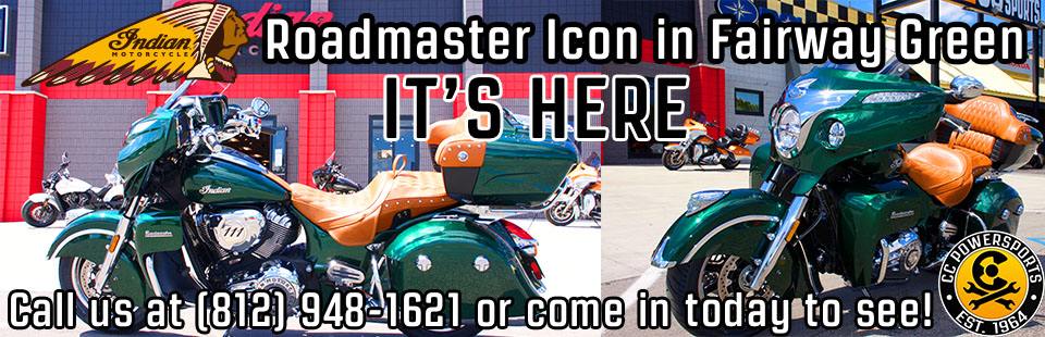 Indian Roadmaster Icon is finally here!