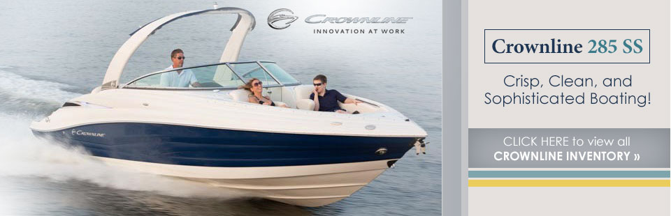 Click here to view all Crownline inventory.