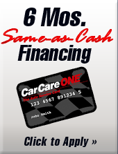 6 Mos. Same-as-Cash Financing