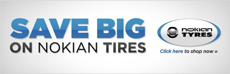 Save Big on Nokian Tires