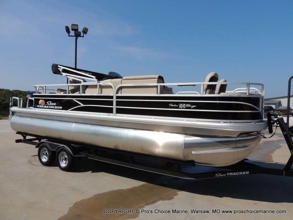 2018 Sun Tracker Fishin\u0027 Barge 22 DLX for sale in Warsaw, MO ...